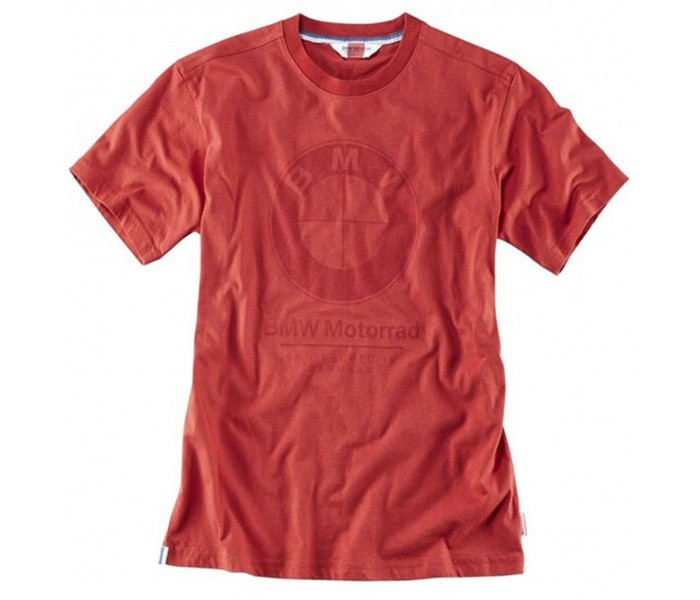 BMW Motorrad T-Shirt Logo Red ΕΝΔΥΣΗ