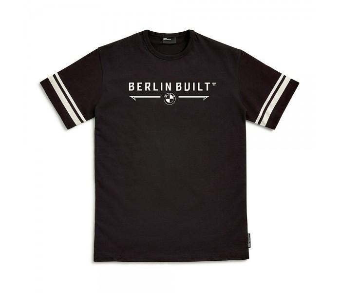 BMW Motorrad T-Shirt Berlin Built Ανδρικό Μαύρο ΕΝΔΥΣΗ
