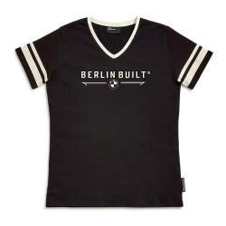 BMW Motorrad T-Shirt Berlin Built Γυναικείο Μαύρο ΕΝΔΥΣΗ