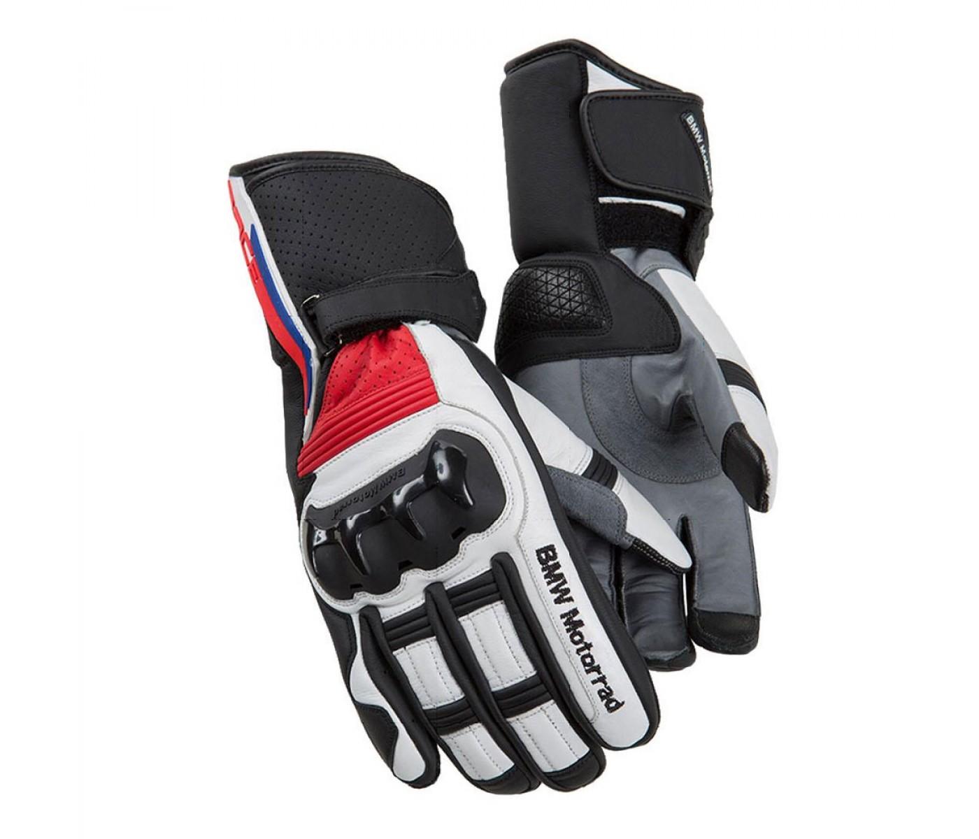 e1810b171c -8% BMW Motorrad Γάντια Δερμάτινα ProRace Μαύρο   Άσπρο   Κόκκινο ΕΝΔΥΣΗ