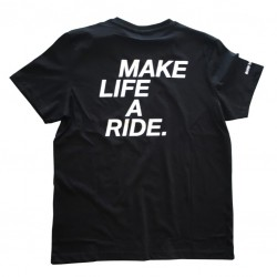 BMW Motorrad Make Life A Ride T-Shirt Μαύρο ΕΝΔΥΣΗ